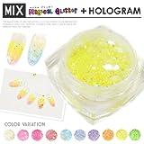 ライトピンク 【MIX】マジカルグリッター + ホログラム ジェルネイルやアクリルに混ぜてOK! グリッター LOAVE NAIL
