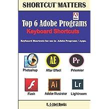 Top 6 Adobe Programs Keyboard Shortcuts.: 29