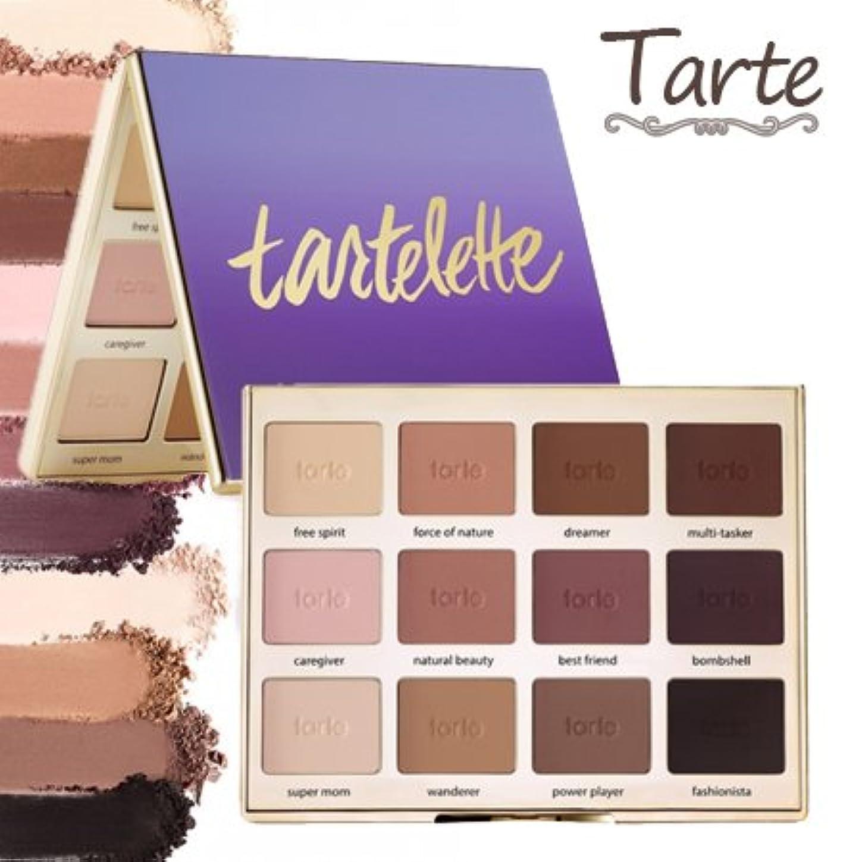 柔和混合回転するタルト Tarte Tartelette Amazonian clay matte palette アイシャドウ パレット 12色 【並行輸入品】