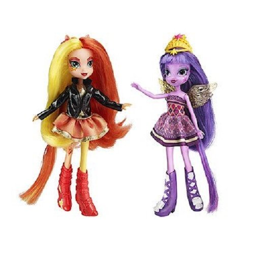 マイリトルポニー 人形セット My Little Pony Equestria Girls Sunset Shimmer and Twilight Sparkle Figures 並行輸入品