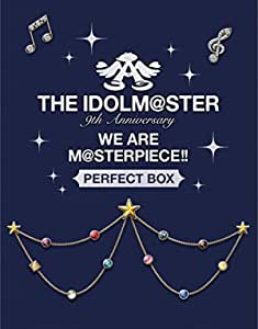 """THE IDOLM@STER 9th ANNIVERSARY WE ARE M@STERPIECE!! Blu-ray """"PERFECT BOX!"""" (完全生産限定)"""
