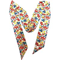 Disney Parks Mickey Parts 80s Retro Bright Scarf 91 inches