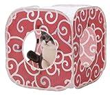 猫壱 キャット プレイキューブ カラクサ 赤