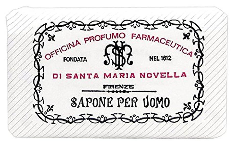 壁紙スキャン薄暗いサンタマリアノヴェッラ メンズソープ パチューリ 130g [並行輸入品]