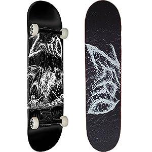 ZERO(ゼロ) スケートボード コンプリート (完成品) AM I DEMON PREMIUM 【高品質パーツ使用 ブランド純正品】 スケボー C17031 (8 x 31.625)