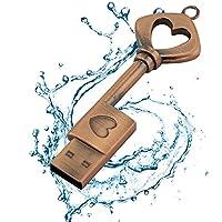 Usbkingdomハートキー形状USB 2.0フラッシュドライブuj003 16GB UJ003-16GB