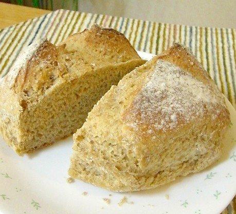 デニッシュハウス ヨーロッパ風田舎パン(ハーフカット)×3セット ※天然酵母