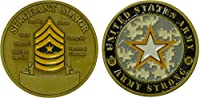 Army Sergeant Major Challenge Coin