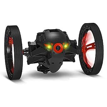 パロット ミニ ドローン ジャンピングスーモ 広角カメラ付 2輪型ロボット (ブラック) 【日本正規品】