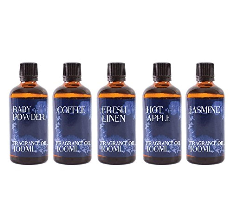 奪うエクステント公使館Mystic Moments | Gift Starter Pack of 5 x 100ml Home Sweet Home Fragrant Oil