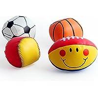 Yiping子供教育玩具赤ちゃんソフト愛らしい手キャッチボールおもちゃギフト幼児魅力的な小さな布ボール