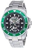 [ブルッキアーナ]BROOKIANA 腕時計 機械式  スカル スケルトン BA1672-BKGR メンズ