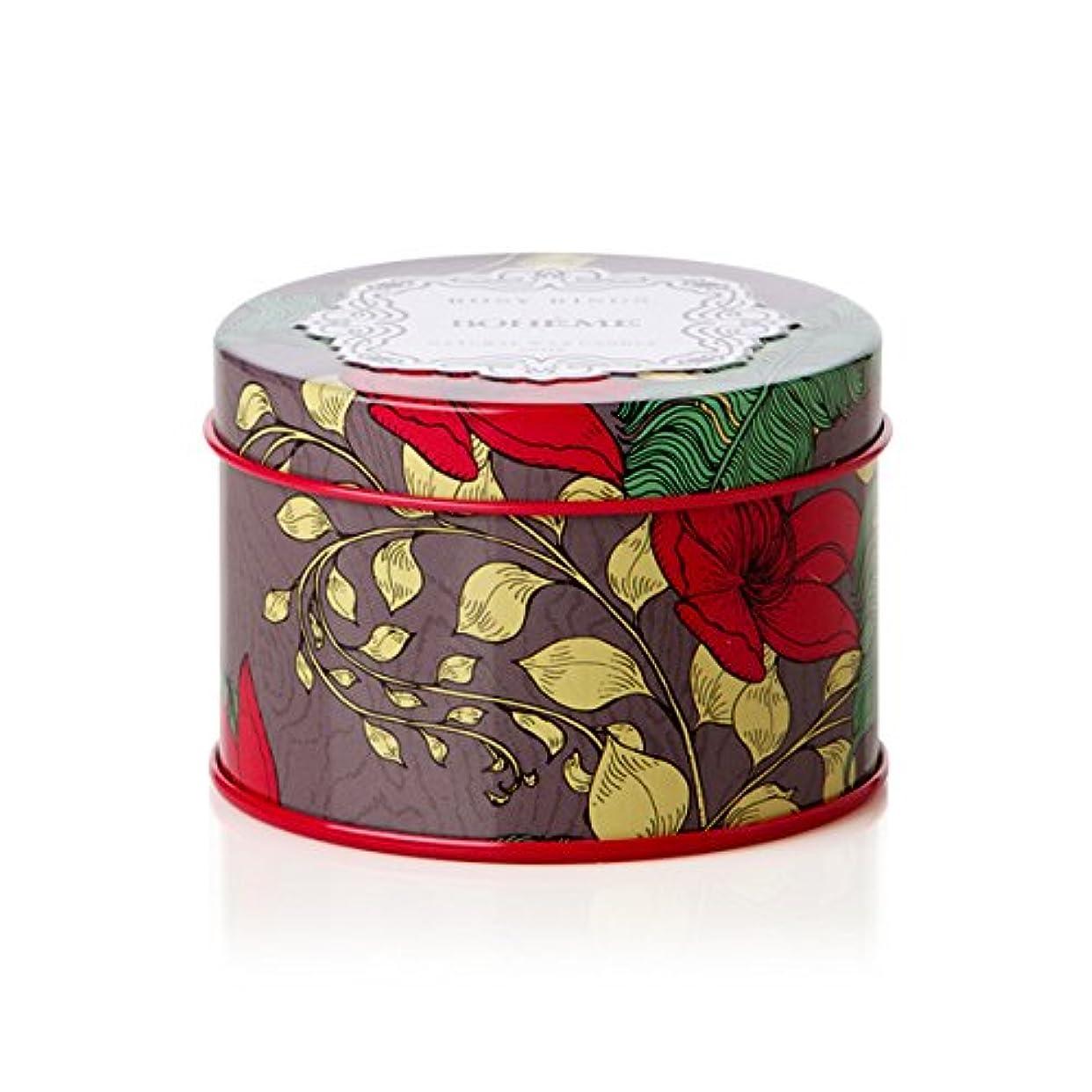 春と闘う訪問ロージーリングス プティティンキャンドル ボエム ROSY RINGS Petite Tin Bohème