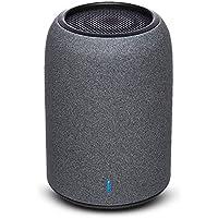 ポータブルスピーカー ZENBRE M4 Bluetoothスピーカー、低音共振器、ミニスピーカー【USBポート、マイク搭載】(ブラック)