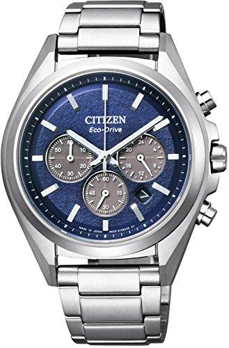 [シチズン]CITIZEN 腕時計 ATTESA アテッサ Eco-Drive エコ・ドライブ クロノグラフ CA4390-55L メンズ