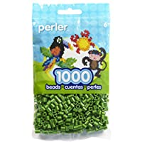 Perler Striped Beads 1000/Pkg-Cucumber (並行輸入品)