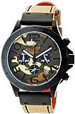 [エンジェルクローバー]Angel Clover 腕時計 Black Master Military カモフラージュ文字盤 ステンレス(BKPVD)ケース クロノグラフ BM46BCM-KH メンズ