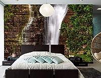 Yosot 大規模な壁画滝巨岩ケベック自然壁紙, レストランリビングルームに sofaTV backdrop ベッドルーム 3d 壁紙-250cmx175cm