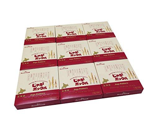 【北海道限定】じゃがポックル(薯條三兄弟) 6袋入り / お土産袋付き / 複数注文可能 (9個)