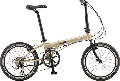 DAHON(ダホン) 折りたたみ自転車 Speed(スピード) D8 インターナショナルモデル 20インチ 2016年モデル 外装8段変速 クロモリフレーム  Gold KAC083
