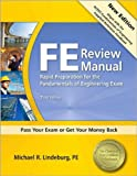 FE Review Manual (text only) 3rd (Third) edition by M. R. Lindeburg PE