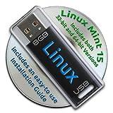 Linux Mint 15Aの起動可能8GB USBフラッシュドライブ–32ビットおよび64ビット。