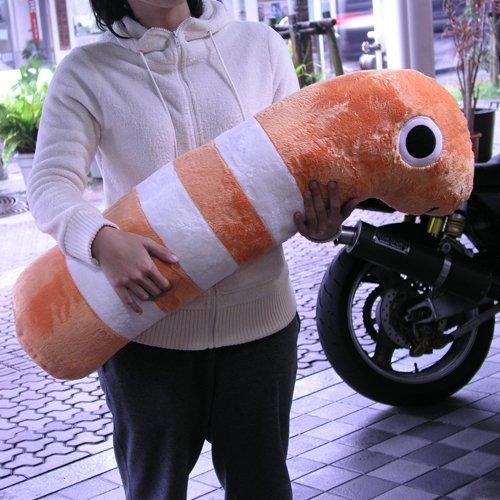おっきい抱き枕【ニシキアナゴ XL】 85cm