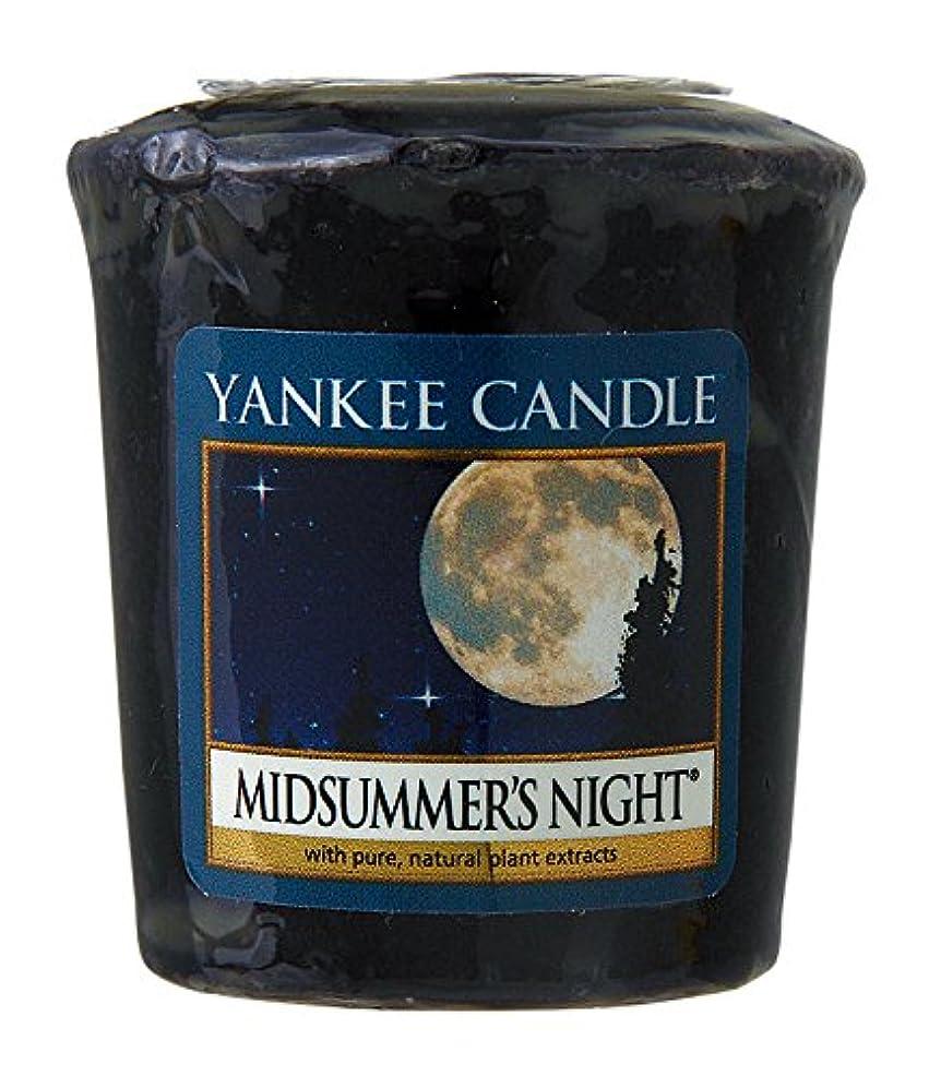 ようこそ散髪説明的ヤンキーキャンドル サンプラー お試しサイズ ミッドサマーナイト 燃焼時間約15時間 YANKEECANDLE アメリカ製