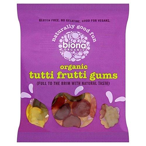 Biona有機トゥッティフルッティのガムの75グラム - Biona Organic Tutti Frutti Gums 75g [並行輸入品]