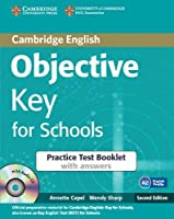 Objective Key for Schools Practice Test Booklet with Answers with Audio CD