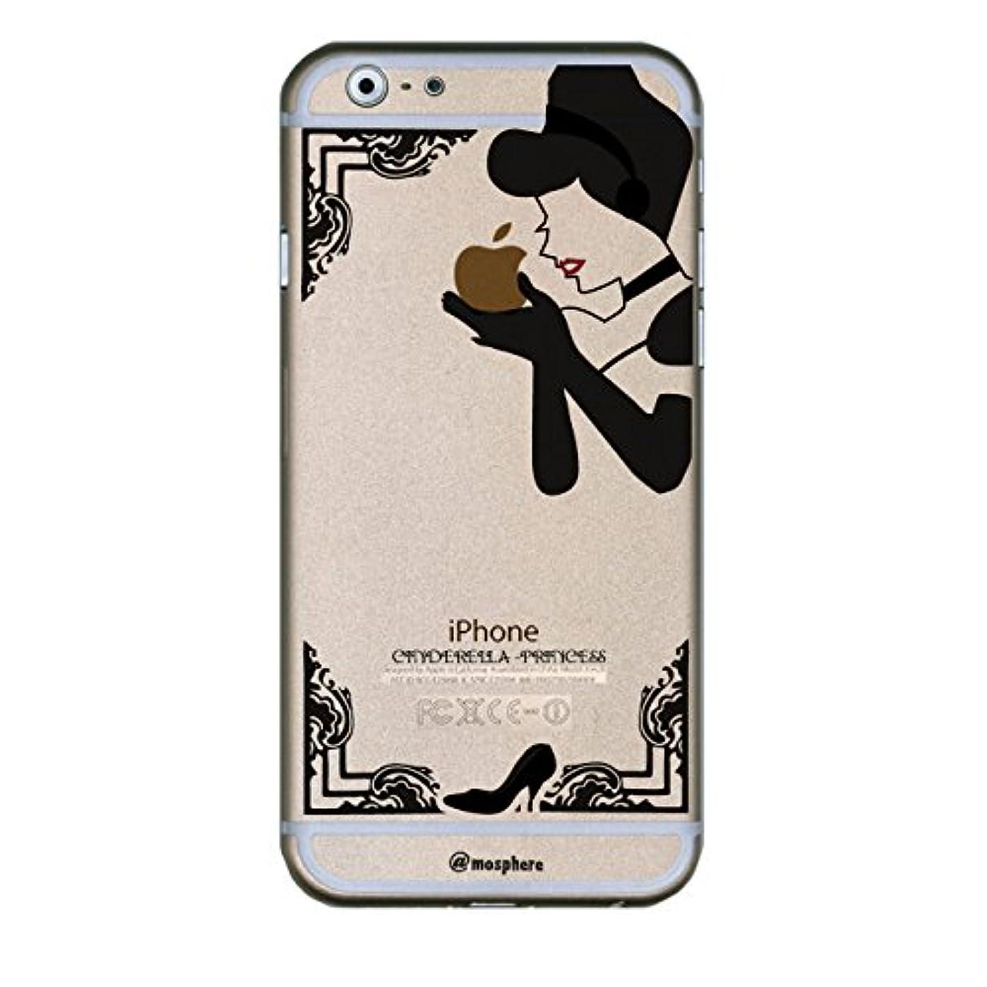 欠かせない影響を受けやすいです異議BRV iPhone6 4.7インチ用 クリアデザインケース Cinderella/BK/EDWP-0018 75540BK