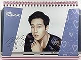 ソ・ジソブ (So Ji Sub)/2018年-2019年 卓上カレンダー+ポストカード12枚(+α)セット - 2018-2019 Desk Calendar + Post Card 12sheets(+α) Set(K-POP/韓国製)