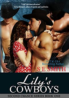 Lily's Cowboys: Fantasy Romance (Heaven Sent Book 1) by [Smith, S.E.]