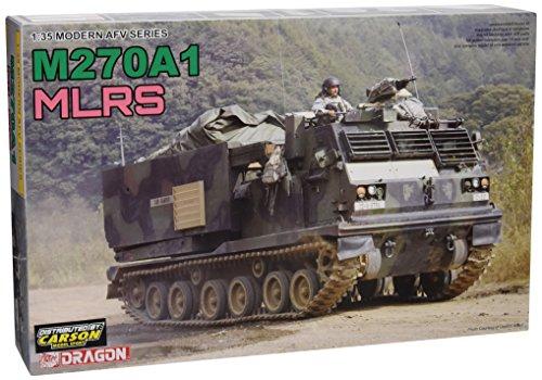 プラッツ 1/35 現用アメリカ陸軍 M270A1 多連装ロケットシステム(MLRS) プラモデル
