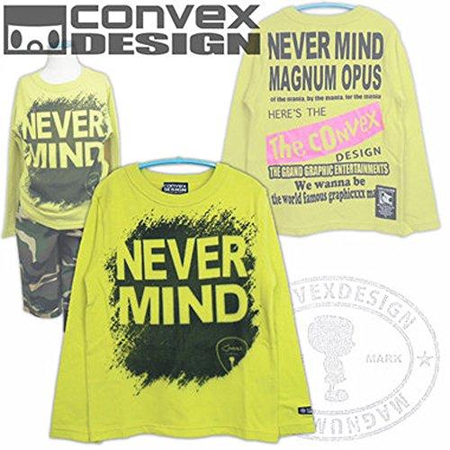 CONVEX(コンベックス) マインドロンT_長袖Tシャツ (120-150cm/キイロ8)▼515...