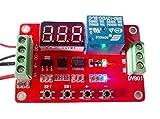 電圧測定リレースイッチ 電圧を検知してリレーをON/OFF 日本語取扱説明書付