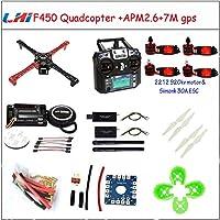Hockus Accessories LHI F450 クアッドコプターラックキット フレーム APM2.6 6M 7M 8M GPS 2212 920KV simonk 30A 9443 ドローンキット ドローンを組み立てるための