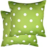 Poise3EHome Outdoor Pillow Covers Set of 2 Waterproof Decorative Throw Pillow Covers for Couch, Patio Garden, Spring Summer D