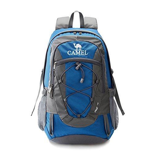 登山バッグ Camel【キャメル】ハイキング バックパック 30L リュックサック 防水 軽量 徒歩 登山 ハイキング キャンプ 旅行用 登山リュック 通気性抜群 多機能バッグ 男女兼用