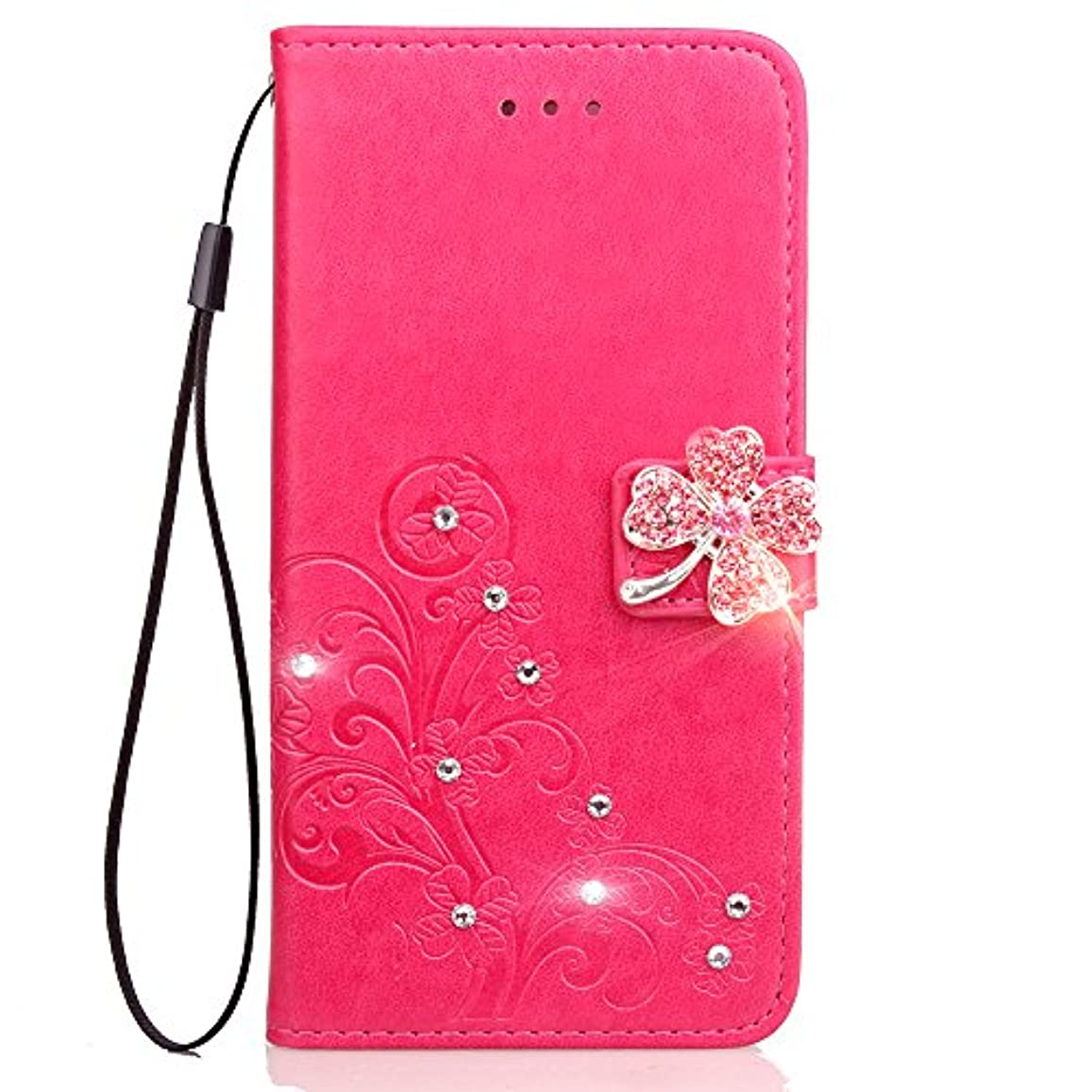 ベット住居絶対にLomogo iPhone 11 Pro Max ケース 手帳型 耐衝撃 レザーケース 財布型 カードポケット スタンド機能 マグネット式 アイフォン11 Pro Max 手帳型ケース カバー 人気 - LOSDA090057 バラ色