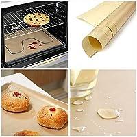 ounona 6040ノンスティックオーブンライナー高温度Bakeware BakingクッキングペーパーキッチンアクセサリーforホームCooks (ホワイト)