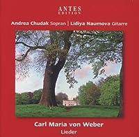 Lieder by Carl Marie Von Weber