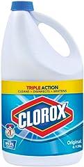 Clorox Bleach, Original, 4 L