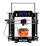 [New Arrival] HICTOP Filament Monitor Desktop 3D Printer Kits Reprap Prusa I3 MK8 DIY Self-assembly Printing size 10.6