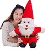 (スマイル ワキキ)Smile YKK 可愛い ぬいぐるみ サンタクロースぬいぐるみ おもちゃ 贈り物 クリスマス人形 サンタクロース クリスマスグッズ インテリア 飾り物 50cm
