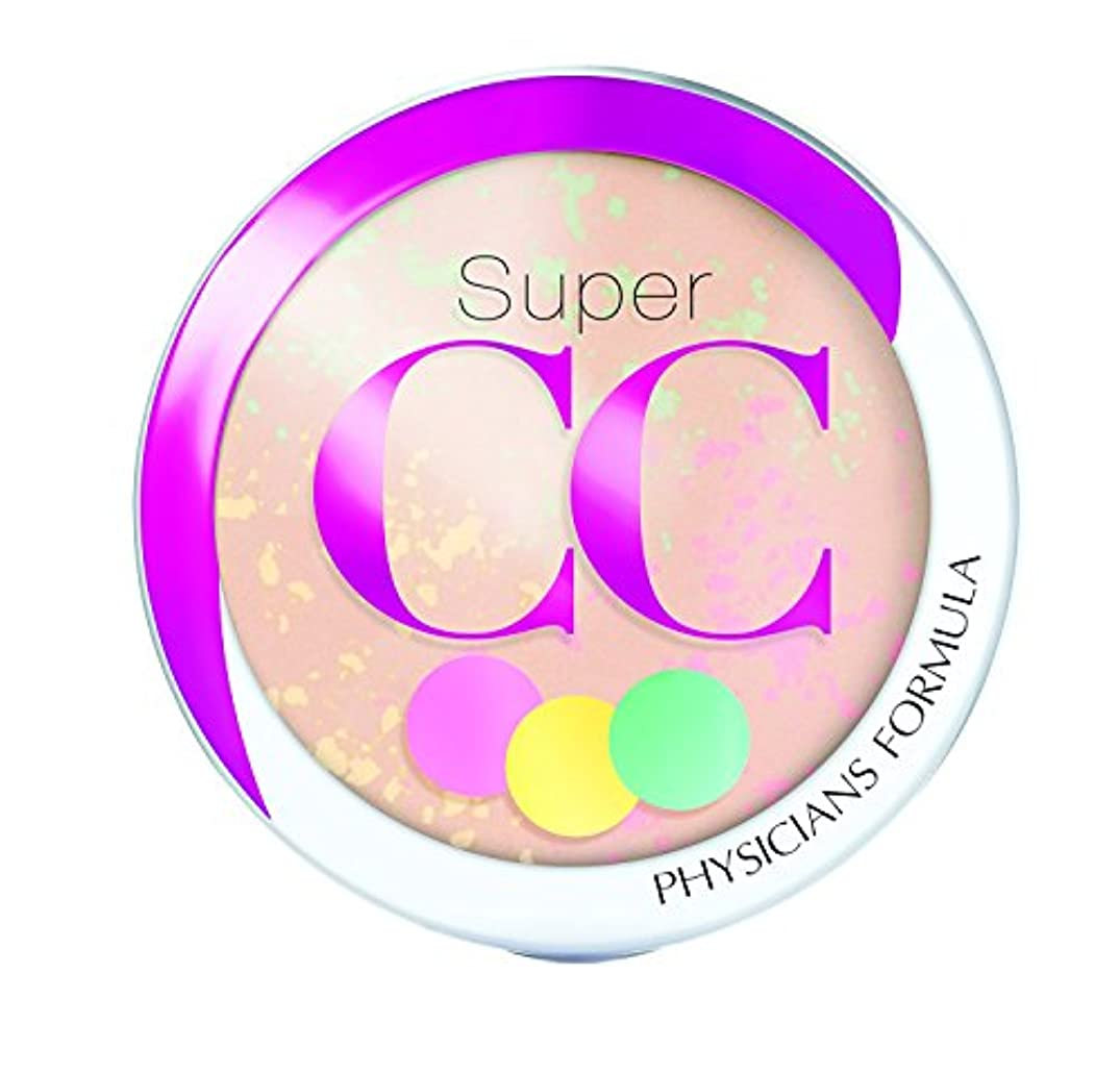怖がらせる類人猿バスケットボールPHYSICIANS FORMULA Super CC+ Color-Correction + Care CC+ Powder SPF 30 - Light/Medium