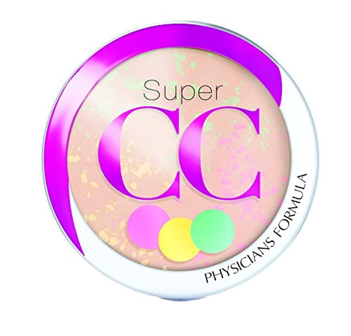 ペリスコープスリット和らげるPHYSICIANS FORMULA Super CC+ Color-Correction + Care CC+ Powder SPF 30 - Light/Medium