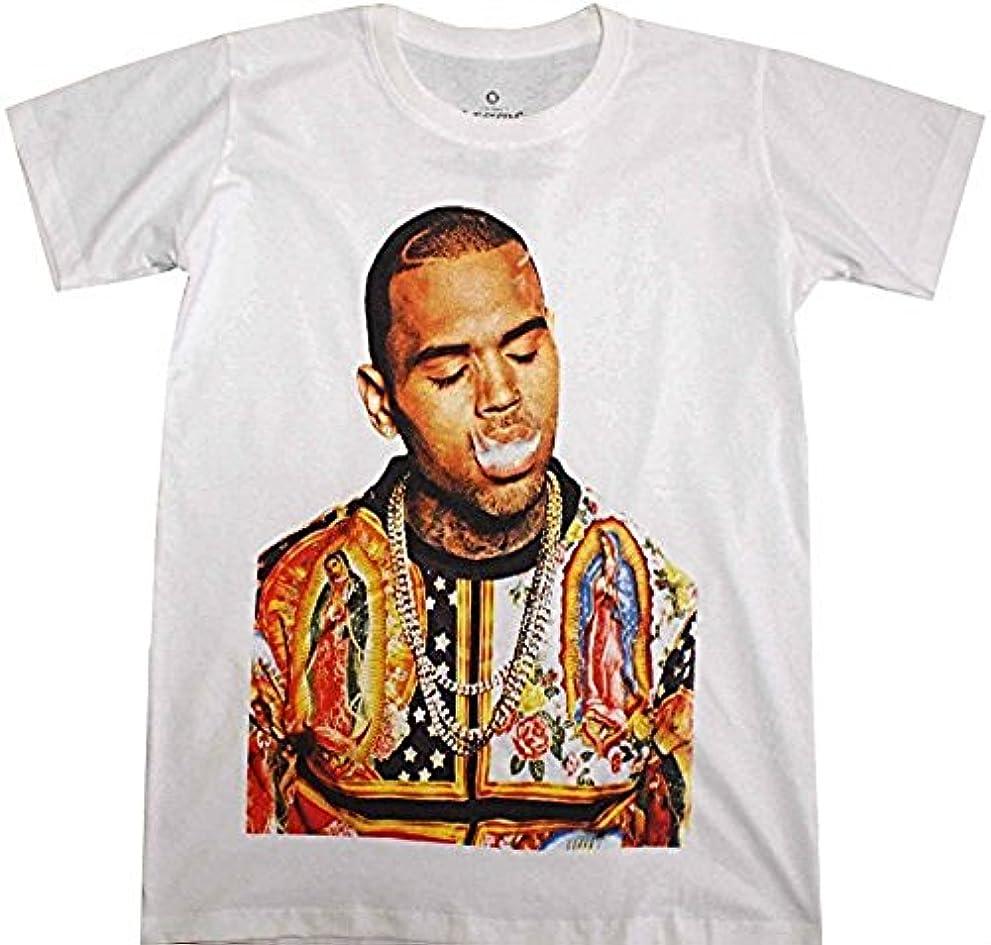 スクラップ利得ご予約【日本未発売】 LECTRO (レクトロ) セクシー Tシャツ ストリート & スケーター Hip Hop クリス ブラウン Chris Brown コットン100%