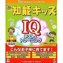 基礎学力こつこつシリーズプラス 知能キッズ IQ テスト&トレーニング 4歳~6歳