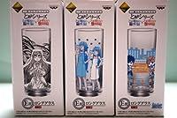 一番くじプレミアム とあるシリーズ禁書目×超電磁砲・E賞ロンググラス/全3種